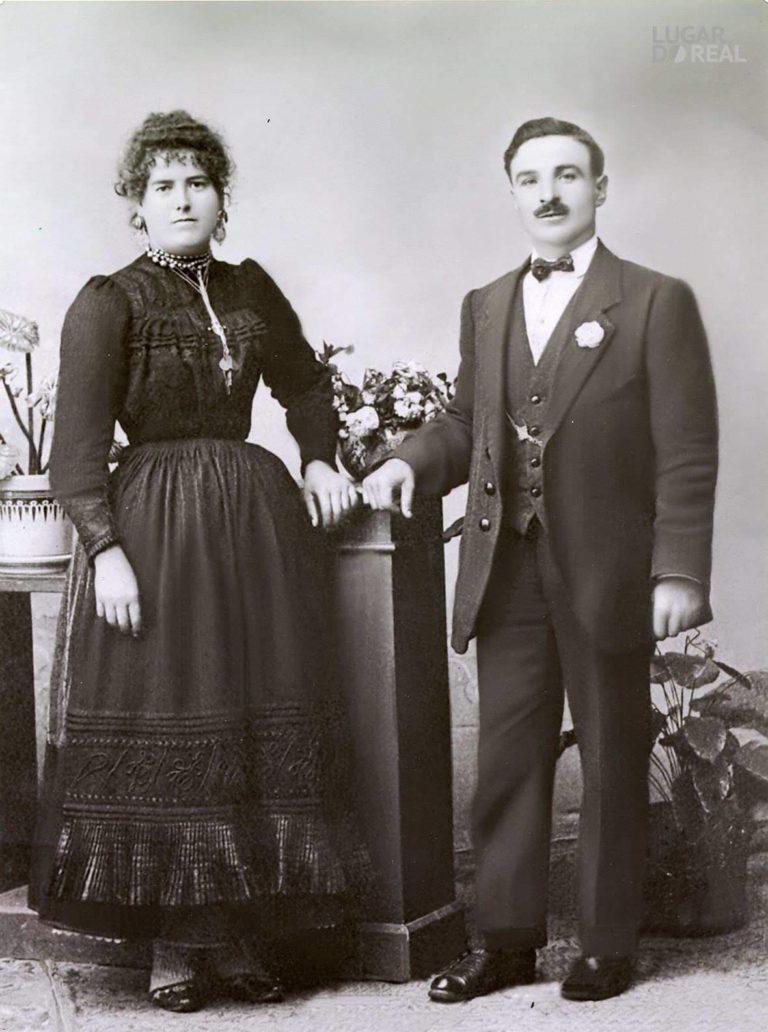 costumes traditionnels portugais mariage début vingtième siècle